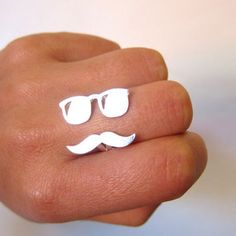such a cute ring. love movember