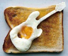 mmmmm ... fried guitar eggs, yum!