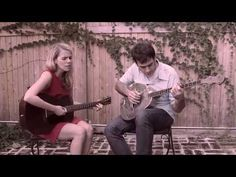 Aoife O'Donovan & Noam Pikelny - Don't That Road Look Rough and Rocky  Guitar and Resophonic Banjo Folk Music with Vocal and added bird song.  Nice sound, two of the new stars of this genre.