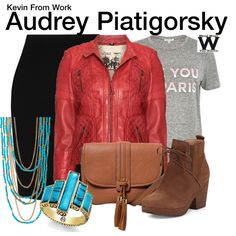 Inspired by Paige Spara as Audrey Piatigorsky on Kevin From Work.
