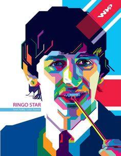 RINGO STAR ON WPAP on Behance