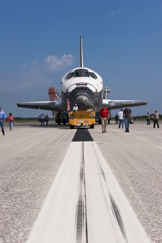 Atlantis Space Shuttle Landing...been there, done that : )