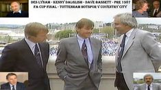 This video clip features Kenny Dalglish (Liverpool FC manager) and Dave Bassett (Wimbledon FC manager) being interviewed by Des Lynam on the Wembley Stadium . Liverpool Fc Managers, Coventry City Fc, Kenny Dalglish, Tottenham Hotspur Fc, Fa Cup Final, Final Days, Wembley Stadium, Finals, Youtube