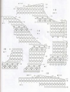 Picasa Web Albums. Crochet woman's cardigan pattern diagram #2