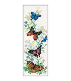 RTO Flying Butterflies Counted Cross Stitch Kit