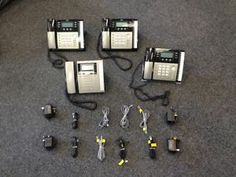 Lot of Four RCA 4-Line Corded Phones SOLD! Was available at Gadgets & Gold in Gainesville, FL!