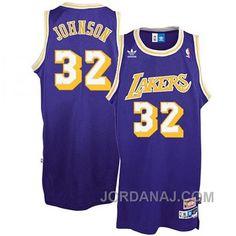 http://www.jordanaj.com/magic-johnson-los-angeles-lakers-32-earvin-purple-throwback-jersey.html MAGIC JOHNSON LOS ANGELES LAKERS #32 EARVIN PURPLE THROWBACK JERSEY Only $89.00 , Free Shipping!