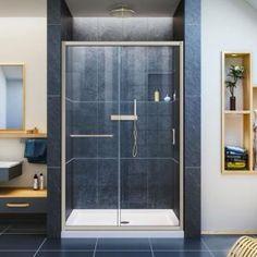 DreamLine Linea 30 in. x 34 in. x 72 in. Semi-Frameless Corner Fixed Shower Door in Brushed Nickel, Shower - The Home Depot DreamLine Linea 30 in. x 34 in. x 72 in. Semi-Frameless Corner Fixed Shower Door in Brushed - The Home Depot Shower Base, Shower Floor, Glass Shower, Stone Shower, Large Shower, Bath Shower, Dreamline Shower, Framed Shower Door, Frameless Sliding Shower Doors