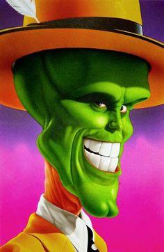 The Mask ( Jim Carrey) de caricature Cartoon Faces, Funny Faces, Cartoon Art, Cartoon Characters, The Mask Cartoon, Caricature Artist, Caricature Drawing, Funny Caricatures, Celebrity Caricatures