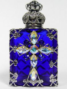 Czech vintage perfume bottle                              …
