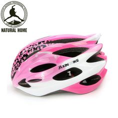 NaturalHome Brand Sport Bicycle Helmets Ultralight Women Breathable Mountain Road Bike Helmet Integrally-molded Cycling Helmet