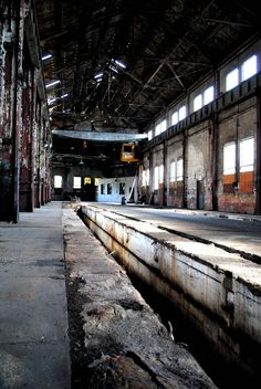 Abandoned Train station in McKeesport, Pennsylvania.