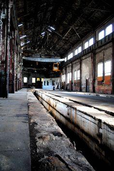 Abandoned Train station in McKeesport, Pennsylvania.