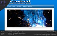 Überarbeitung (Design und Technik) und Relaunch der Webseite für LSM Schweißtechnik, Remscheid