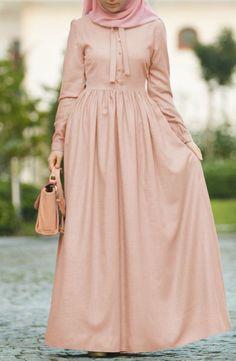 Modest Fashion Hijab, Abaya Fashion, Skirt Fashion, Fashion Dresses, Iranian Women Fashion, Islamic Fashion, Modest Maxi Dress, The Dress, Moslem Fashion