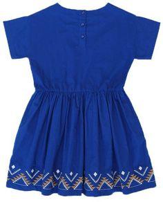 Zanzibar Embroidered Dress