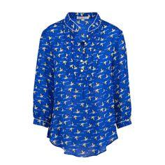 Delphine Top - Flying Flamingo Print  | Libelula | Wolf & Badger  /  Women / Clothing / Tops