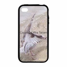 "iPhone case with image from my photo gallery, ""Seagull"""