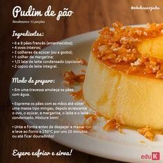 Descubra essa e muitas outras deliciosas sobremesas no menu de gastronomia da eduK: scup.it/dhsc