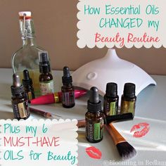 How Essential Oils Changed My Beauty Routine + Must-Have Oils for sleeping better, longer lashes, battling dark spots and acne scars & preventing wrinkles.