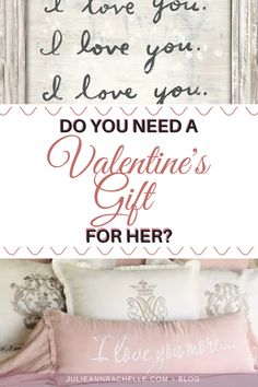 Do you need a Valentine Gift for her? I'm sharing 16 unique, romantic Valentine Gift Ideas for that woman that speaks the love language of receiving gifts. Show her you care, listen, and love with these awesome ideas.