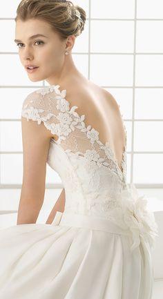 rosa clara 2016 wedding dresses dallas lace back details