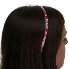 Washington State Cougars Ladies Domed Headband #GoCougs University Store, Washington State University, College, Gift Ideas, Lady, Gifts, Jewelry, University, Presents