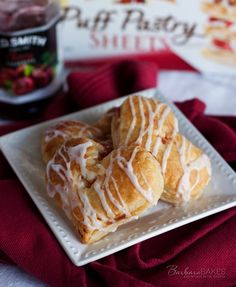 Heart Shaped Cherry Hand Pie Recipe - Super easy to make for someone you love.