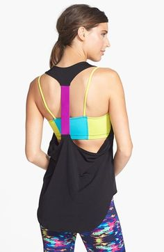 Onzie Elastic Racerback Tank available at #Nordstrom