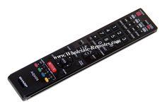 LC60SQ10 Sharp Remote Control SHA-REM-257713