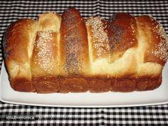 Reteta culinara Paine cu Lapte din Carte de bucate, Produse de panificatie si patiserie. Specific Romania. Cum sa faci Paine cu Lapte Bread Recipes, Banana Bread, Desserts, Food, Tailgate Desserts, Deserts, Essen, Bakery Recipes, Postres