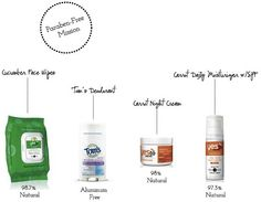 paraben-free products!!