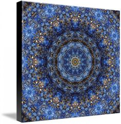 """Lapis Lazuli Laminate"" Mandala | Richard Jones"