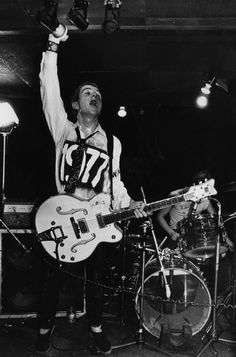 The Clash: Joe Strummer by Ray Stevenson, 1977 Joe Strummer, Good Music, My Music, Beatles, Jimi Hendricks, Ray Stevenson, Clash On, Mick Jones, 70s Punk