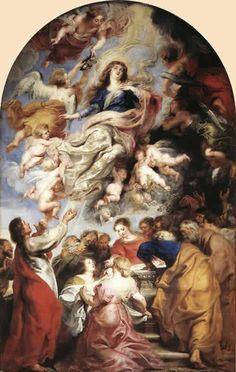 聖母被昇天 ルーベンス 絵画の解説