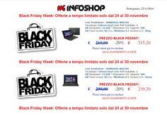 Black Friday Week! Offerte a tempo limitato solo dal 24 al 30 novembre