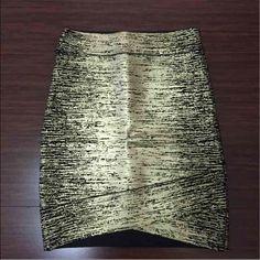 BCBGMAXAZRIA skirt BCBGMAXAZRIA bandage skirt size small runs small Brand new with tags, very sexy  Retail $198 BCBGMaxAzria Skirts Mini