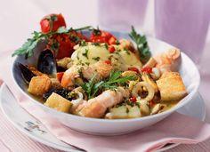 ZarzuelaCe plat typiquement espagnol sent bon le soleil!Lire la recette de la zarzuela