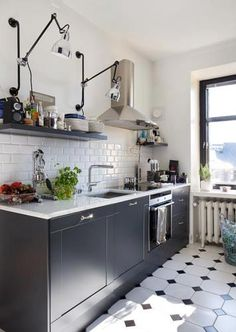 Lampe Gras kitchen 312 bl sat long lighting LAMPE GRAS Pinterest ...