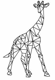 giraffe tekening - Google zoeken