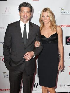 """Patrick and Jillian Dempsey The Grey's Anatomy star and his wife of nearly 15 years, makeup artist Jillian Dempsey, announced in January that they would be ending their marriage. In a statement, the couple said, """"It is with careful consideration and mutual respect that we have decided to end our marriage,"""" adding, """"Our primary concern remains the wellbeing of our children, and we ask with profound gratitude that you respect our family's privacy at this very sensitive time."""" They are parents…"""