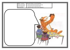Tiger who came to tea resources- Cross Curricular topic (lists, graphs, etc.)