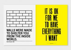 I Like It: What Is It? by Anthony Burrill