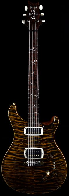 Wild West Guitars : PRS Private Stock P22 Signature Tiger Eye - Sold
