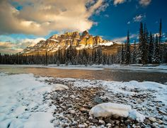 Castle Mountain, Banff National Park. I just need to go here. ASAP.