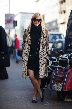 col roule +leopard