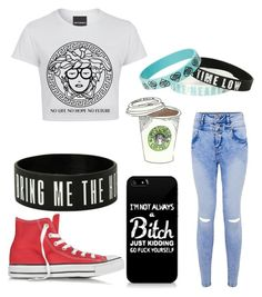 """Untitled #177"" by trinity-taylor-1 ❤ liked on Polyvore featuring Converse"