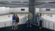 May 2015 WESLEY CHAPEL —  Florida's newest, biggest ice complex has a name: Florida Hospital Center Ice.