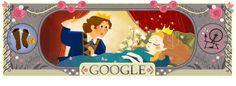 #GoogleDoodle !الذكرى الـ388 لميلاد شارل بيرو