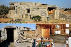 Earthship Home  Location: Columbus, New Mexico, USA